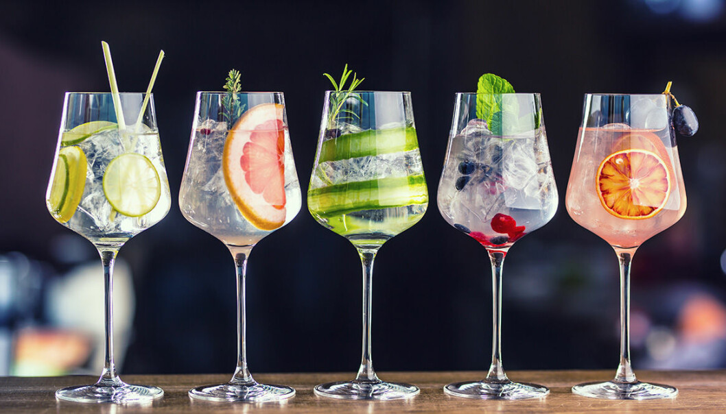 Gin-recept