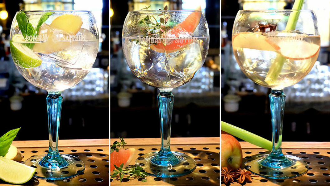 Gin & Tonic Oriental Express, Spring Thyme och The Harvest.