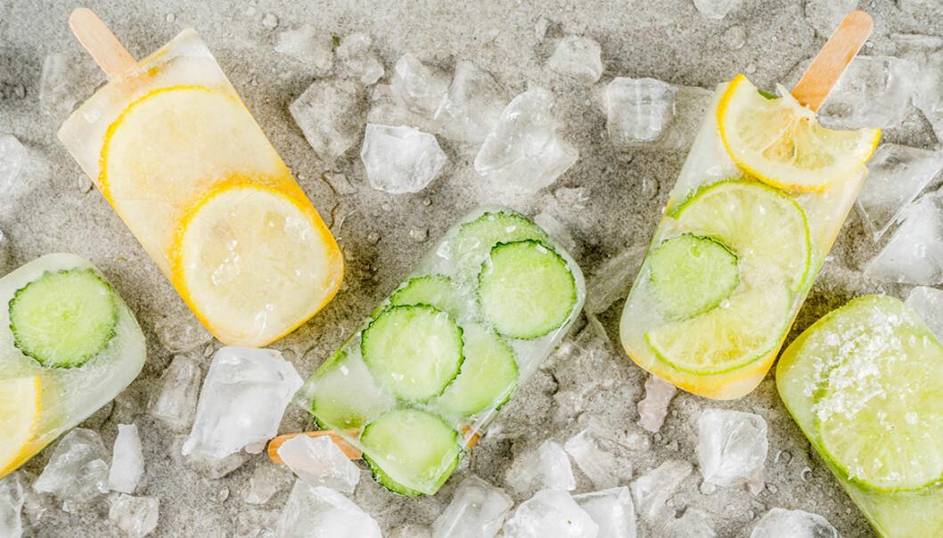 Uppfriskande Gin & Tonic-glass.