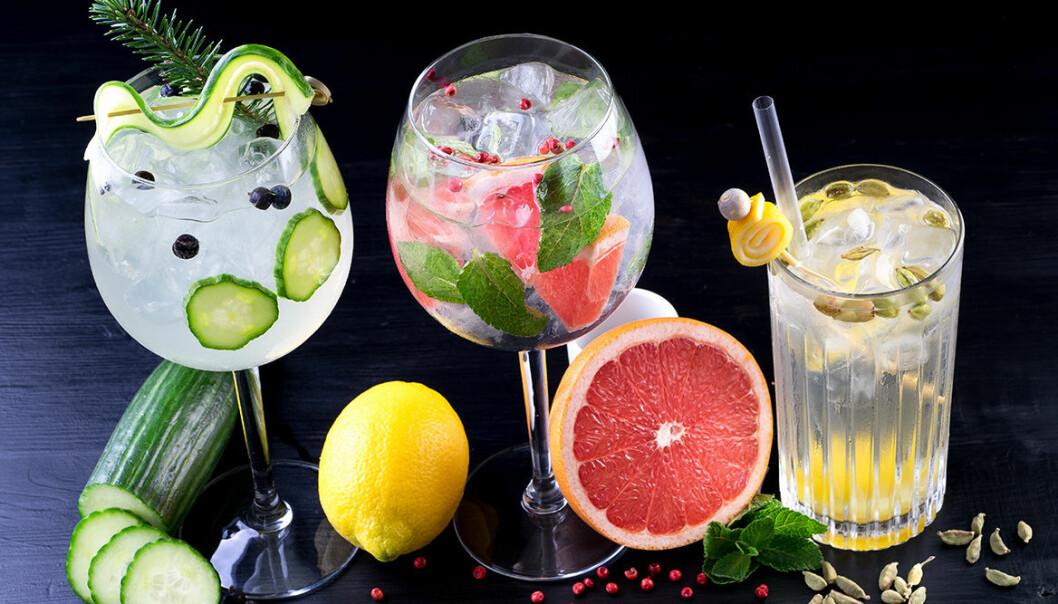 Trendiga twister av Gin & Tonic.