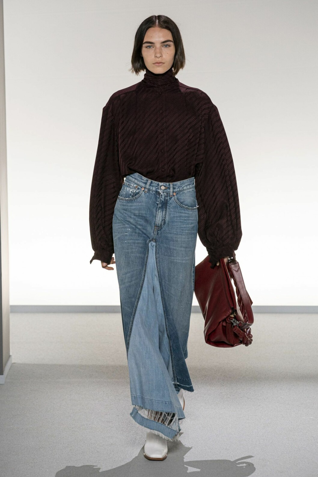 Lång jeanskjol Givenchy
