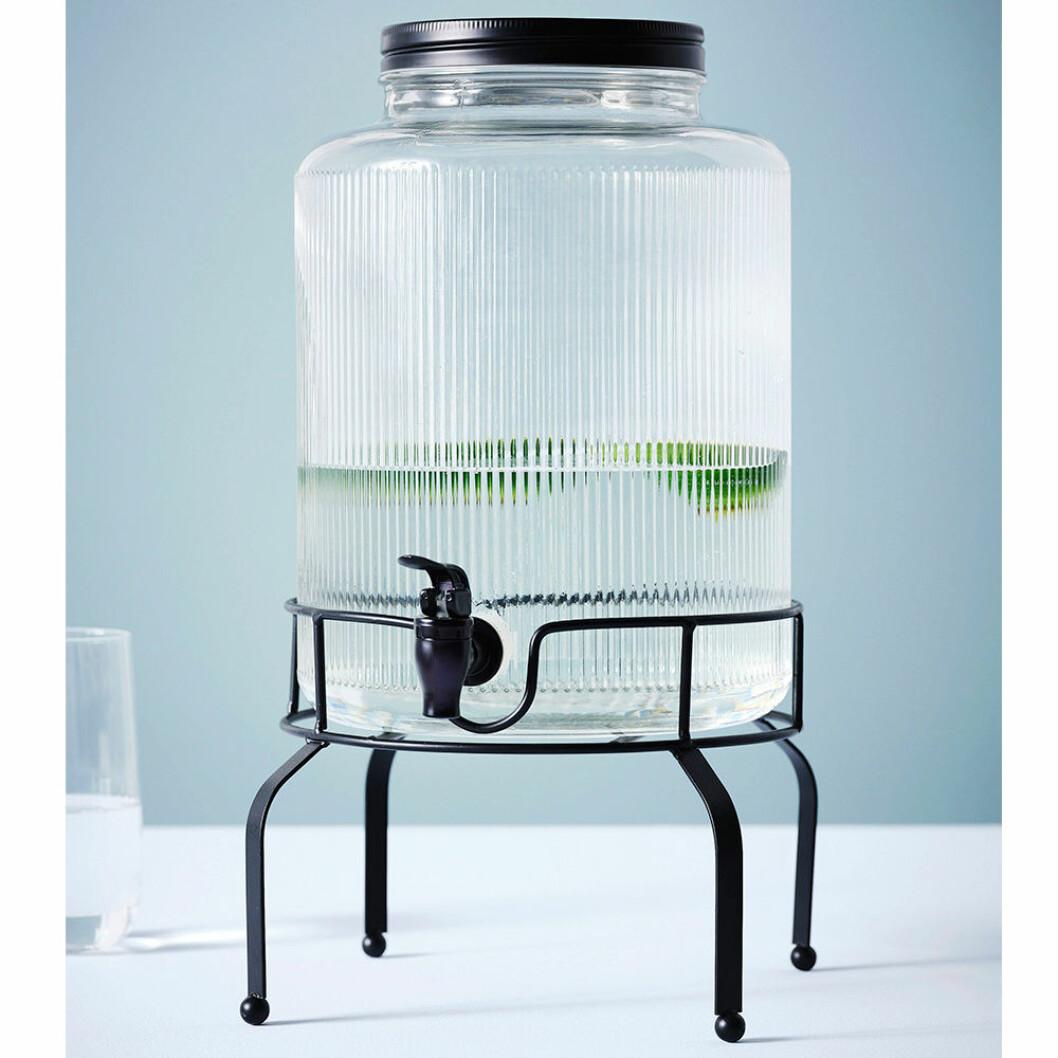 Glasburk med tappkran från Maxim