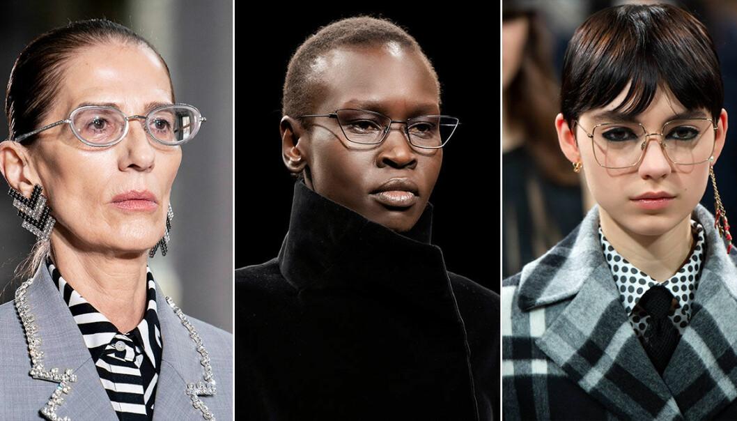 glasögontrend hösten 2020, optiska glasögon