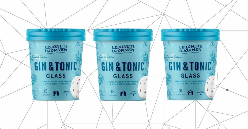 Gin och Tonic glass