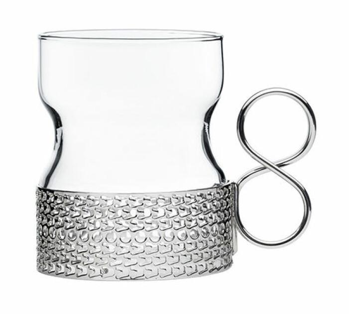 glögglas med hållare