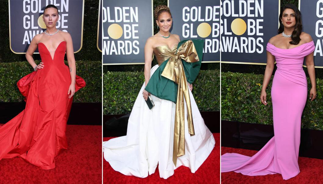 Golden Globe 2020 röda mattan