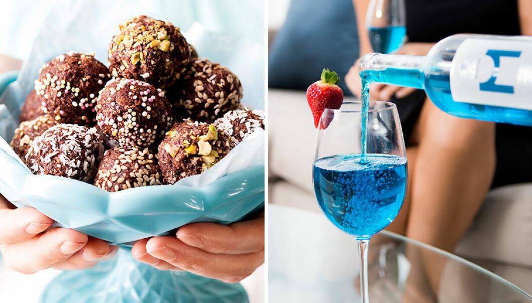 Chokladbollar och blått vin googlades mycket 2017!