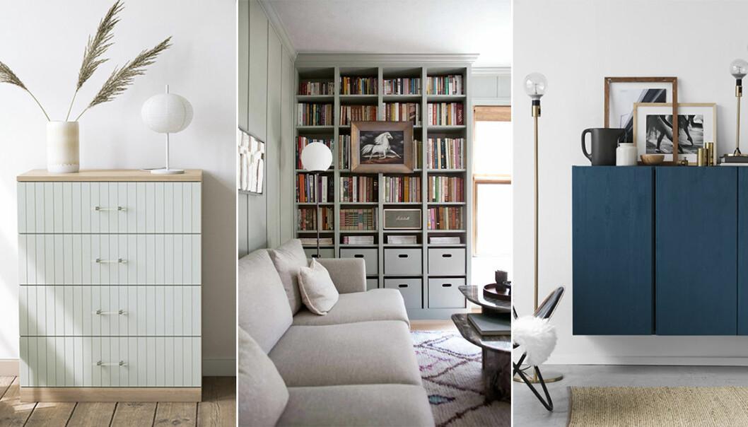Gör om dina ikea-möbler – Billy, Malm och Ivar
