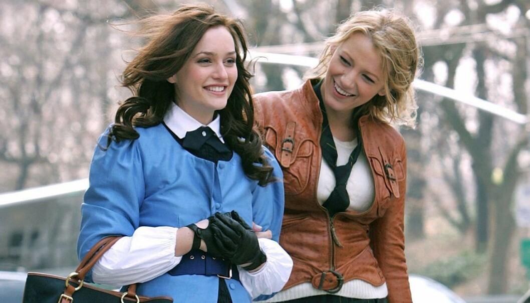 Blair och Serena i gissip girl