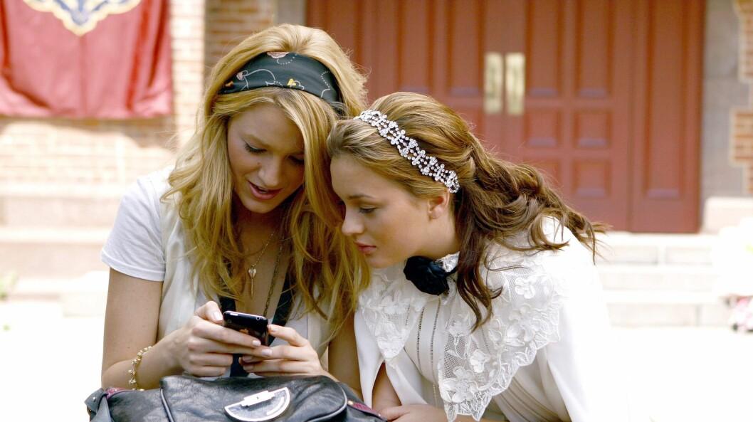 Serena och Blair i gossip girl