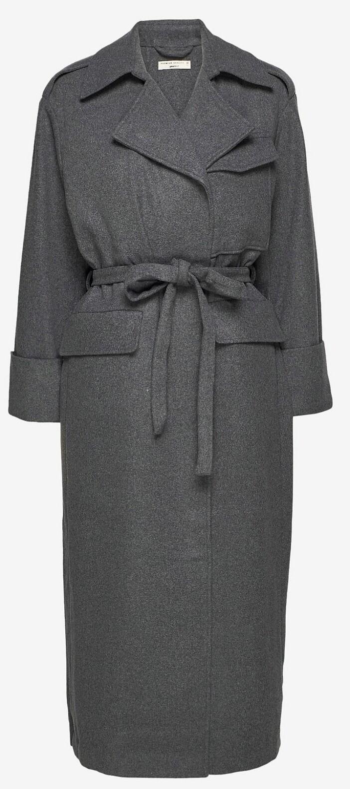 grå kappa gina tricot