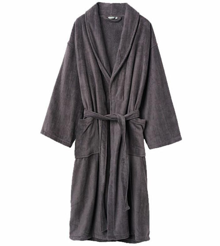 grå morgonrock åhlens