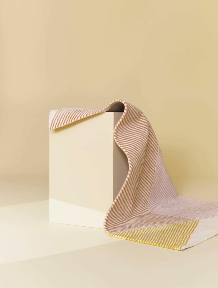 Grafisk i rosa och gult från NJRD