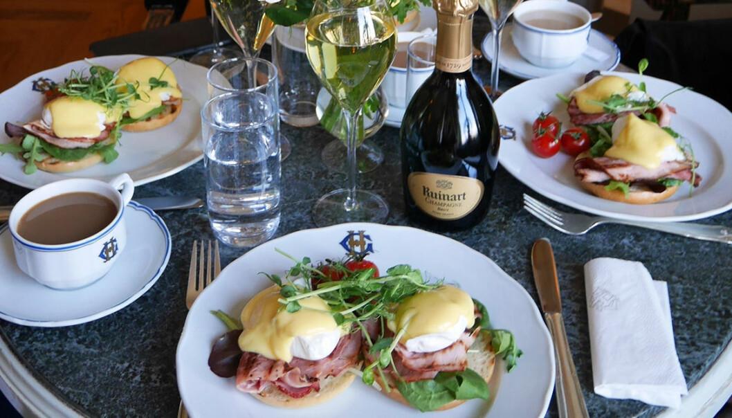 Grand Hôtel lanserar Sparkling Breakfast.