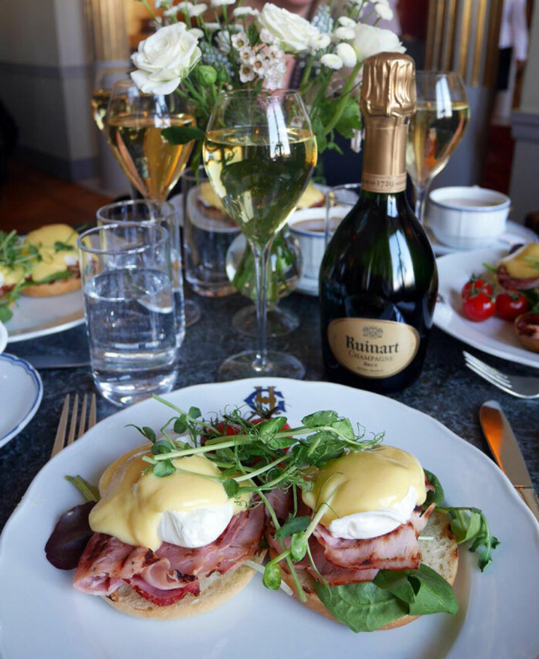 Sparkling Breakfast på Grand Hôtel Stockholm.
