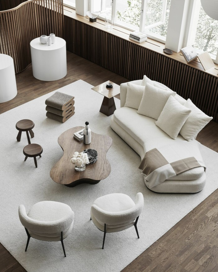 Grand relations ateljé i stockholm i skandinavisk stil