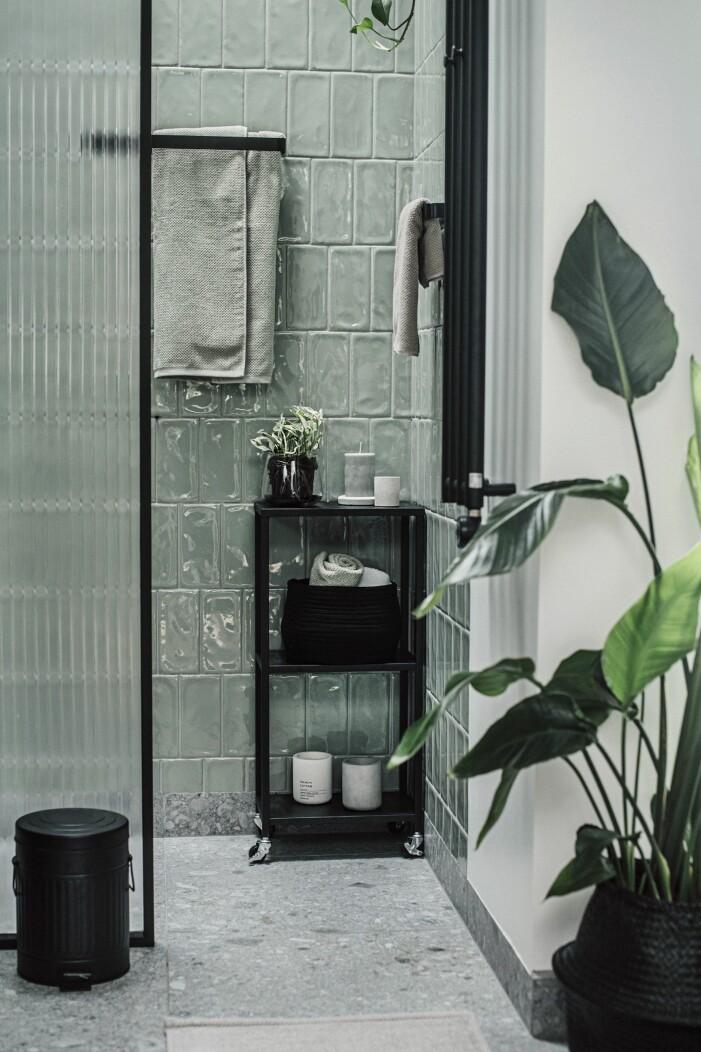 Inred tidlöst och hållbart, grönt badrumsinredning från Granit