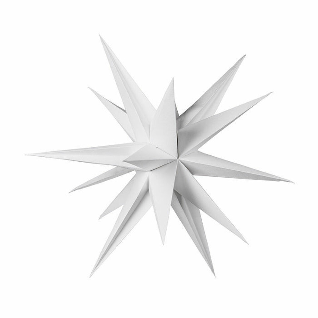 julstjärna sputnik från granit