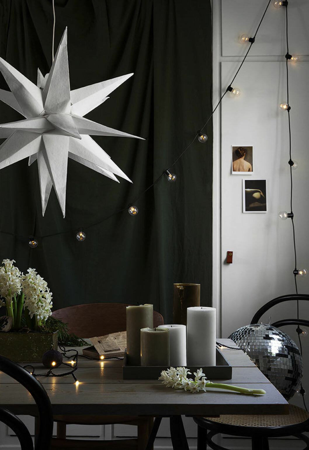 Julen hos Granit går i naturnära färger