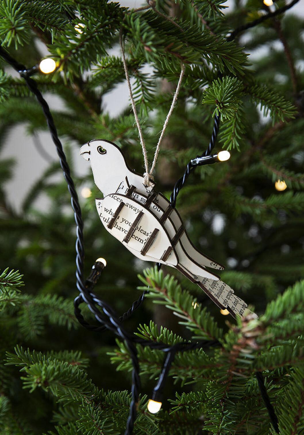 Fågeldekoration från Granits julkollektion 2018