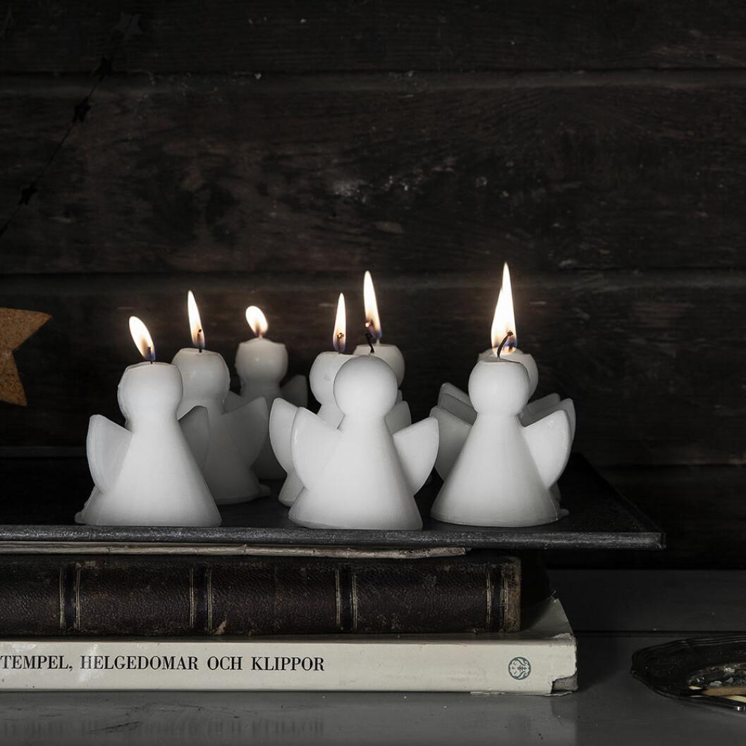 Änglaformade stearinljus från Granit