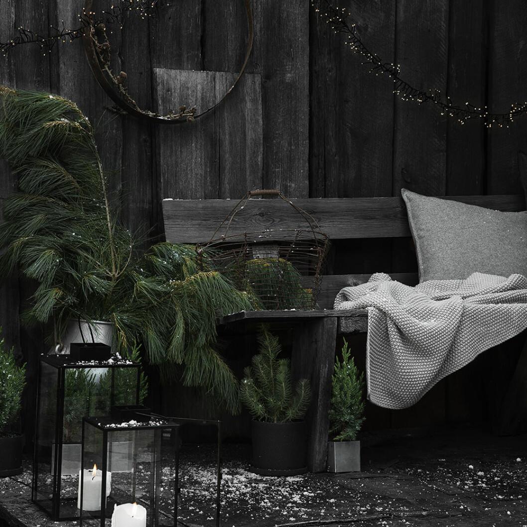 Julen nyheter hos Granit går i mörka toner med vita accenter