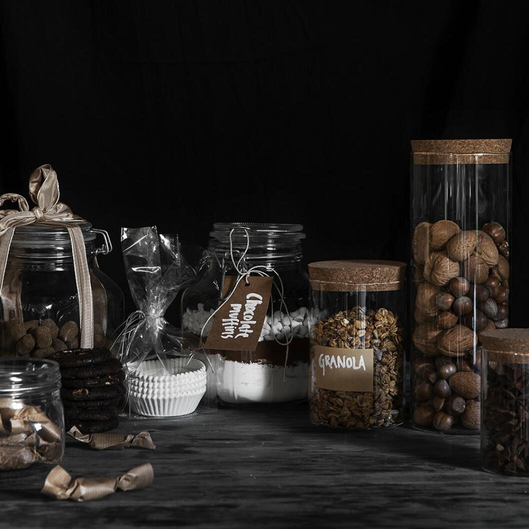 Snygga förvaringsburkar till köket från Granit i jul