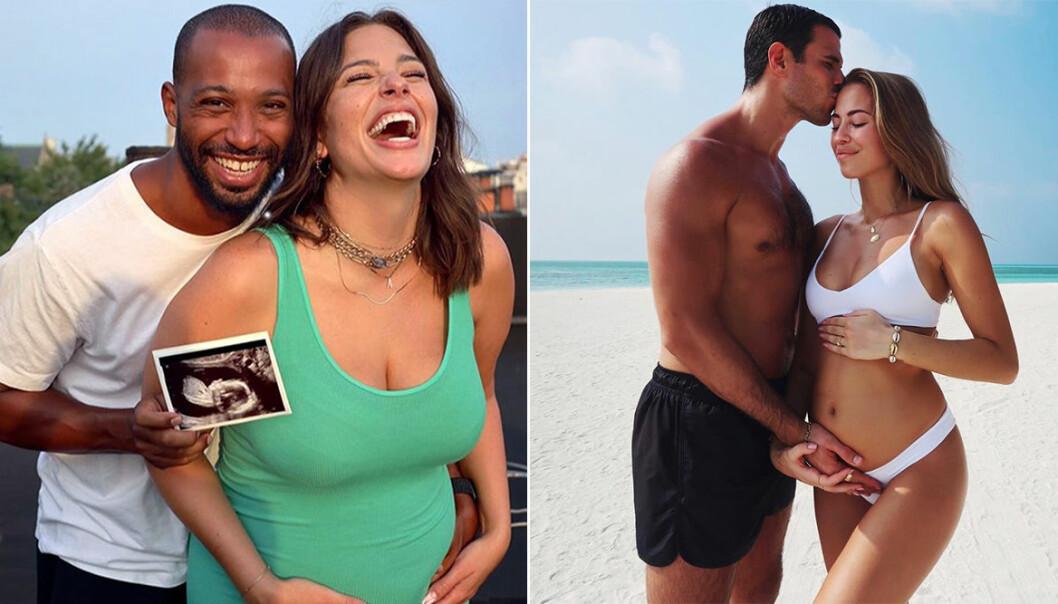 Kändisarna som hyllas för sina vackra och inspirerande gravidbilder