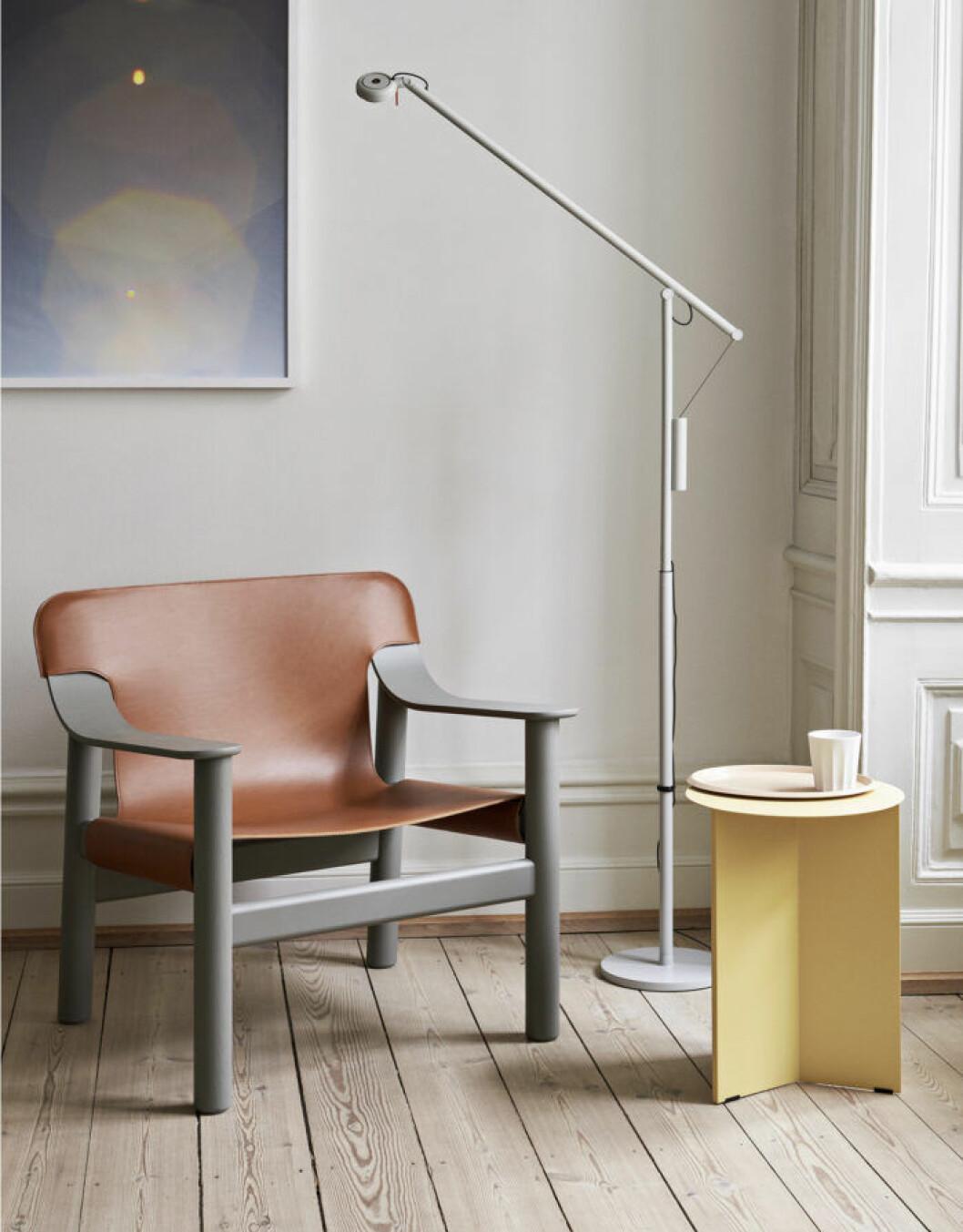 Ljust gråbeige är en neutral och trendig färg och ett bra tips när du målar om