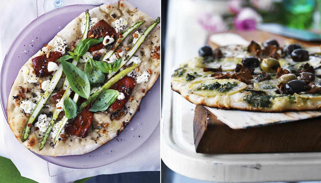 Grillad pizza trend 2020