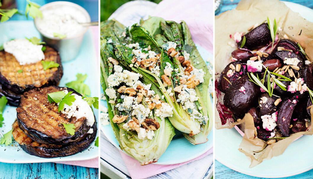 De flesta grönsaker går utmärkt att grilla.