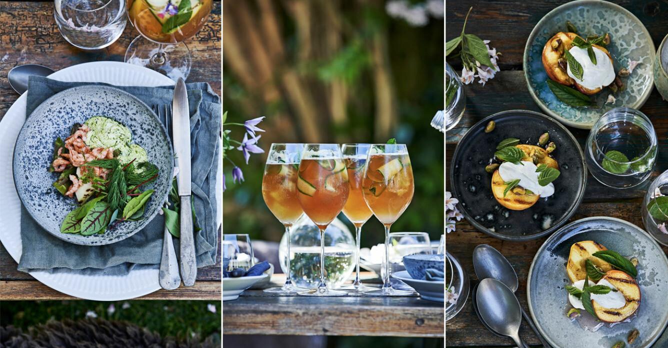 Bjud in till grill-fest i trädgården – 5 goda recept