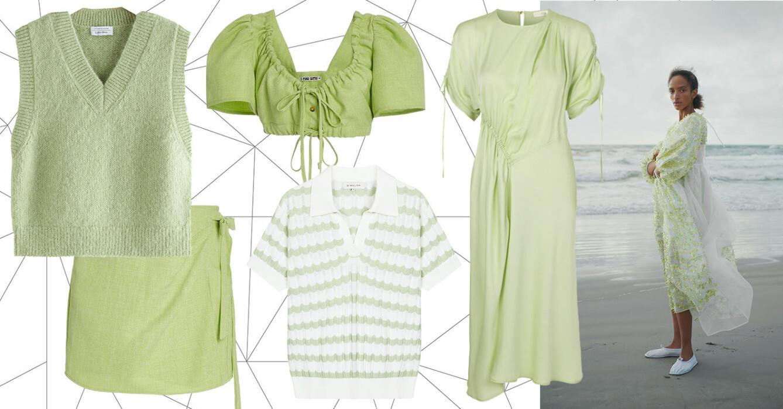 grön shopping till våren 2021.