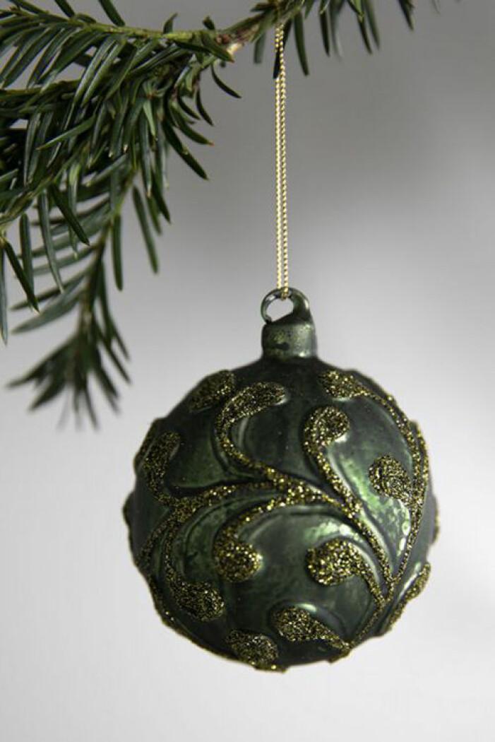 Grön julgranskula, Oscar & Clothilde
