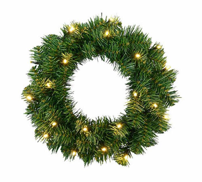 grön julkrans