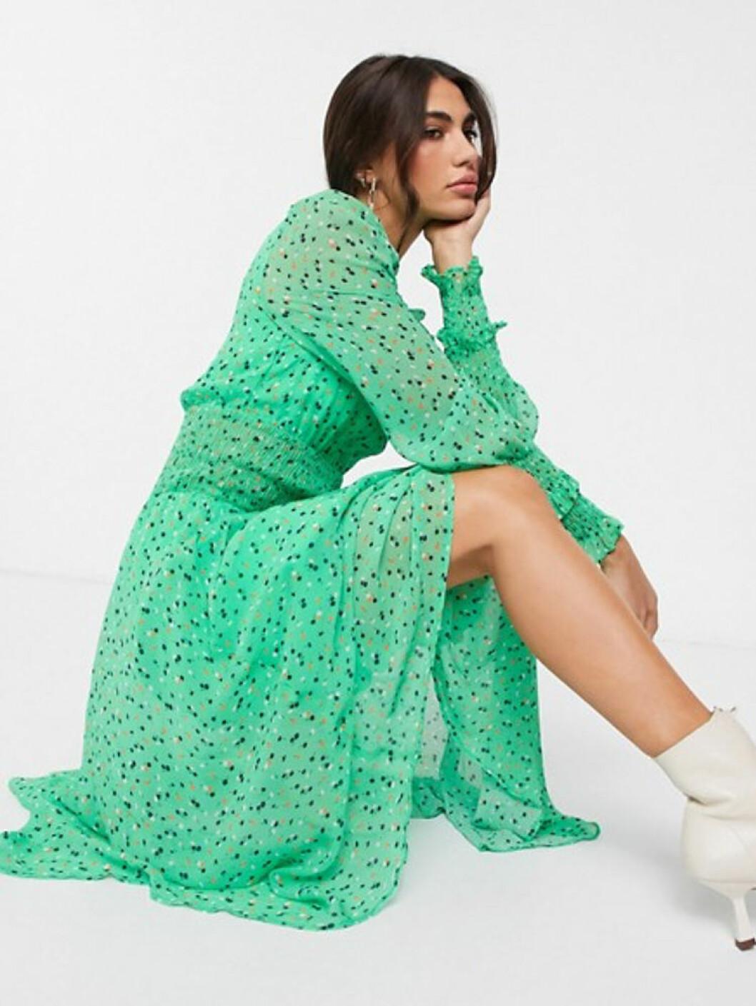 Grön maxiklänning från Ghost