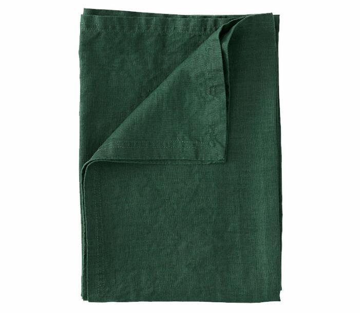 grön linneduk