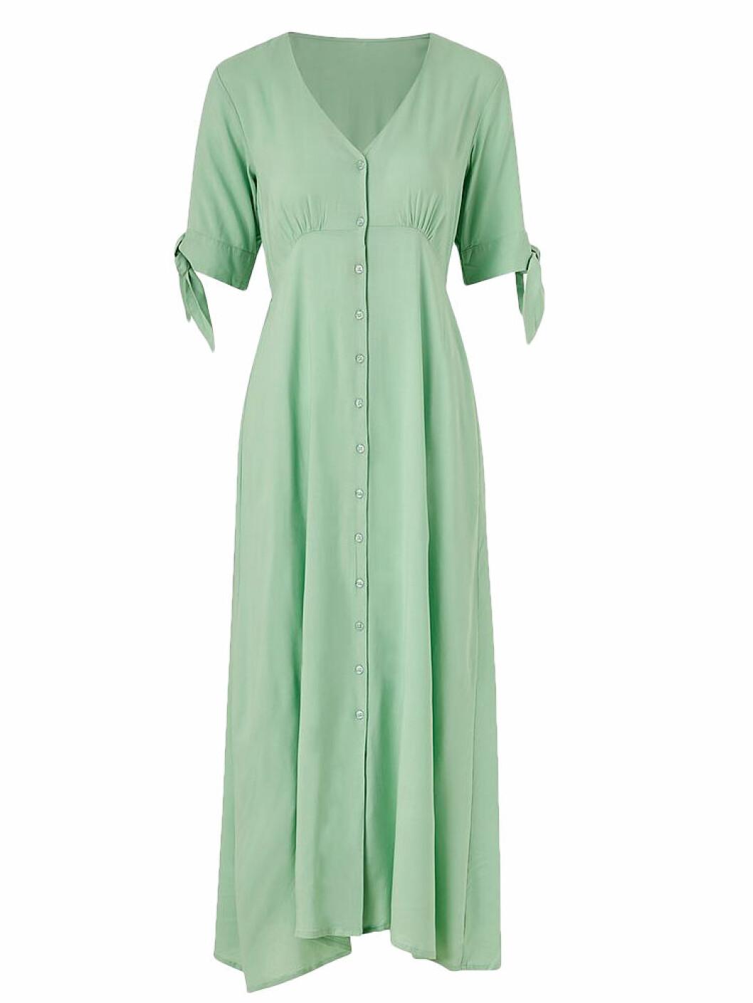 Ljusgrön klänning från Ellos