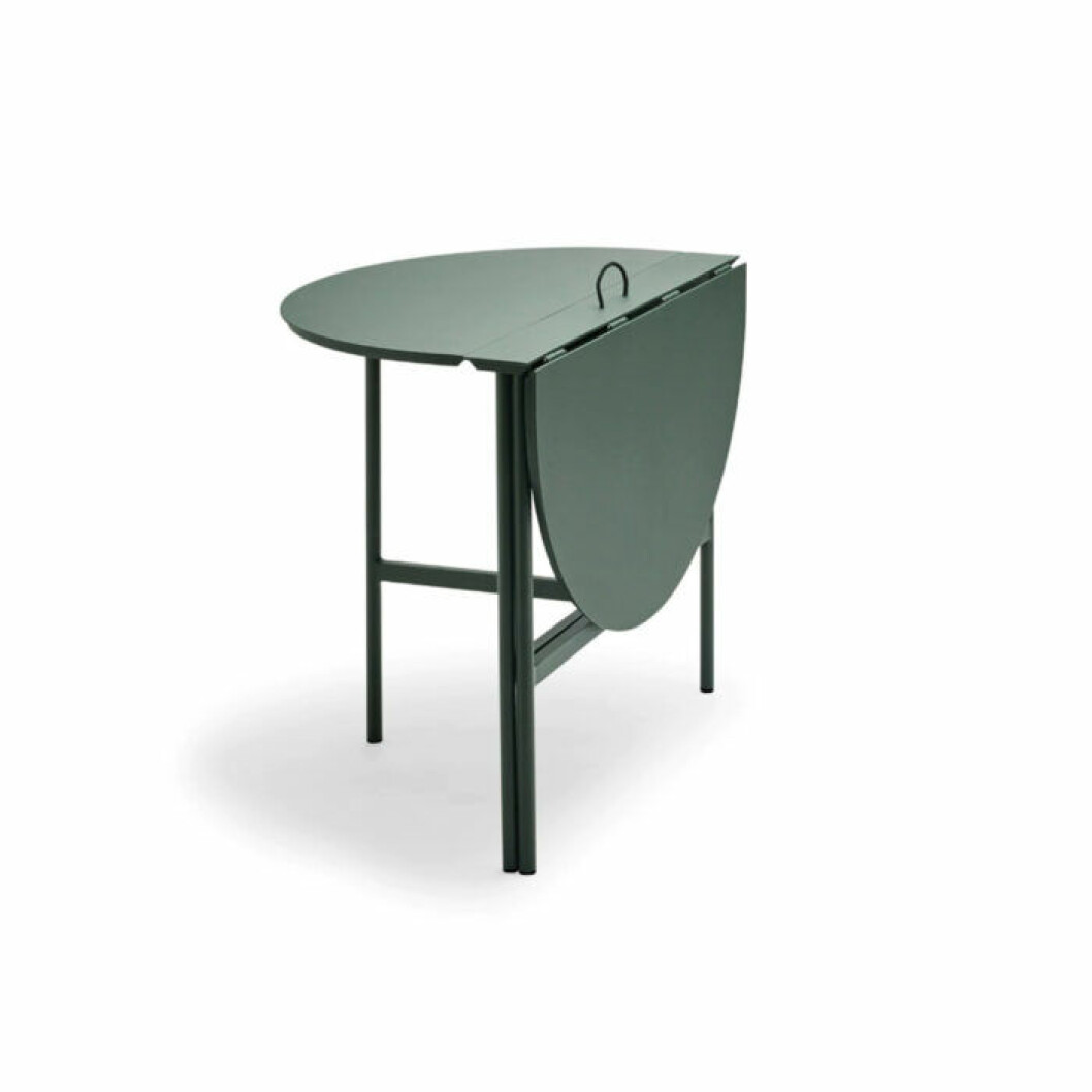 Snyggt grönt klappbord