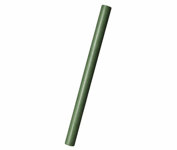 grönt presentpapper