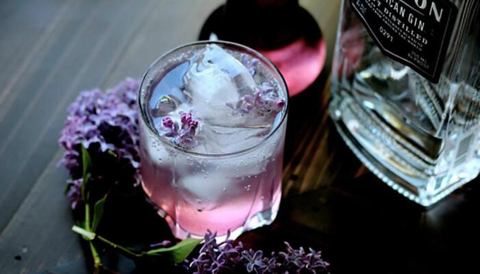 Gin & tonic smaksatt med syren