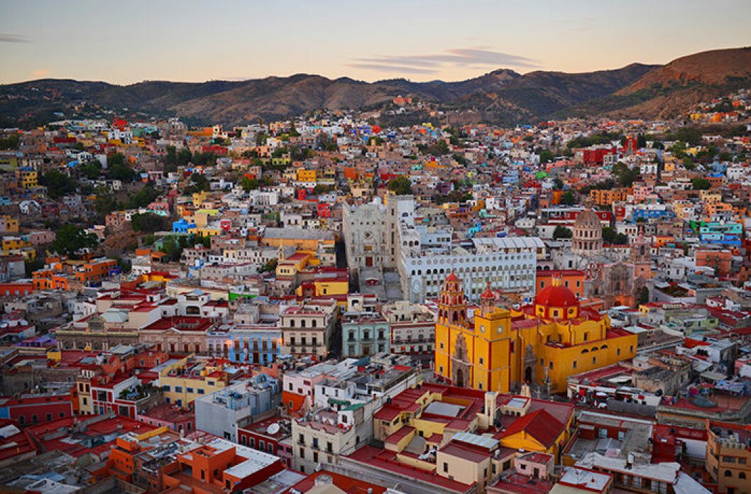 Guanajuato, Mexico stadsvy