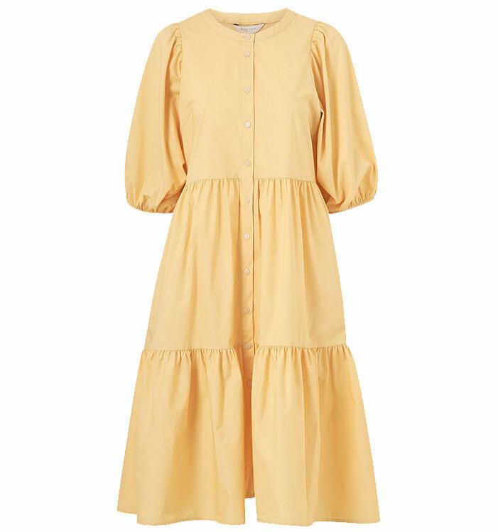 gul klänning 2ndday