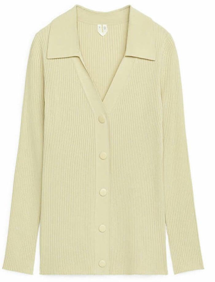 gul tröja från arket.