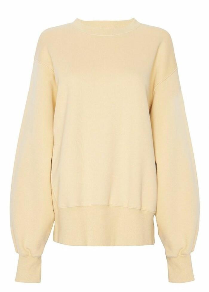gul tröja från the frankie shop.