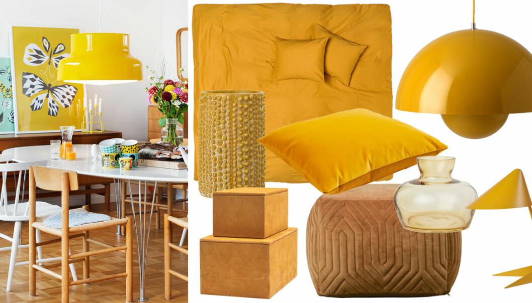 Shopping: 19 snygga inredningsdetaljer i trendfärgen gul