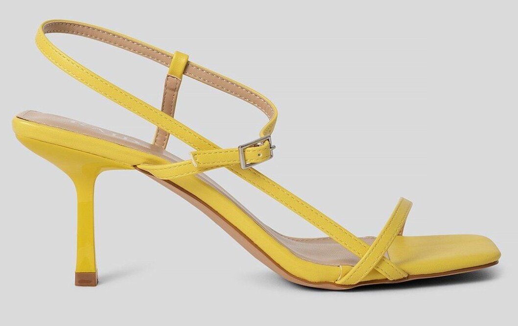 gula sandaletter från raif