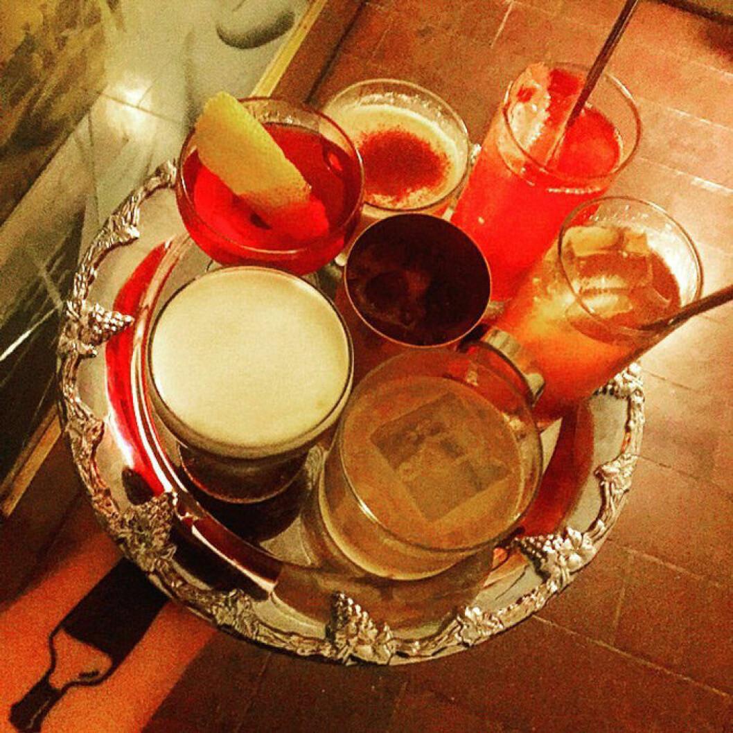 Blandade drinkar från Bottles.
