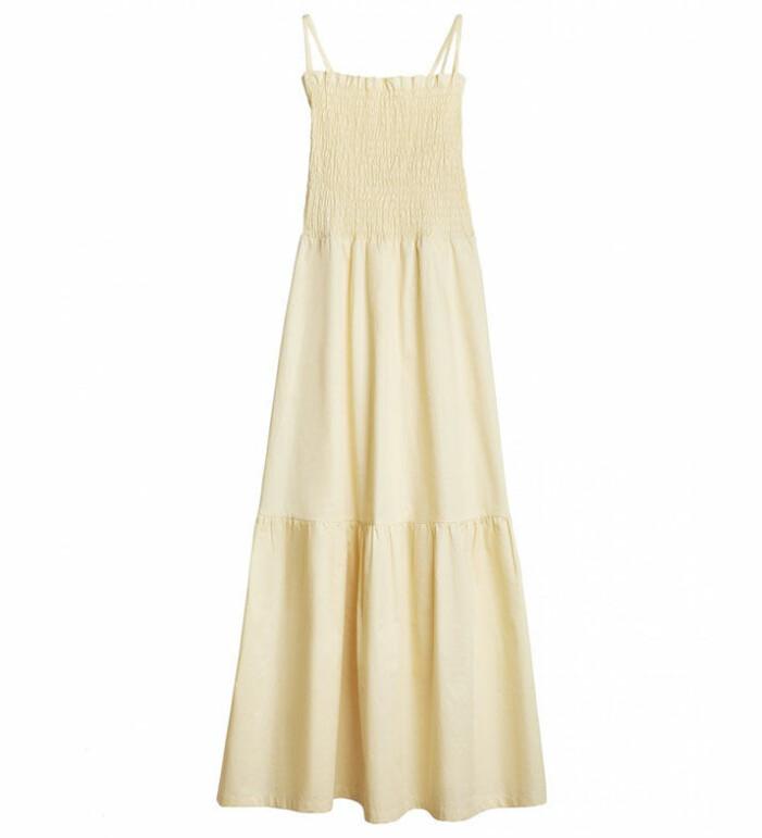 gul klänning rodebjer