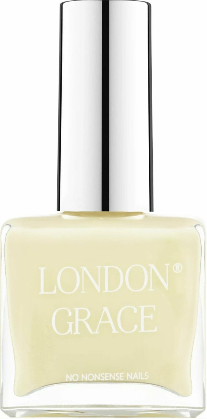 gult nagellack från london grace.